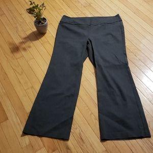 2/$15🦇 Grey Pull Up Dress Pants